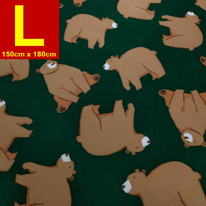 【嬅樺小舖】MIT台灣製 五層專業透氣防水墊 L號《機能款-大棕熊》防尿墊 隔尿墊 防水尿墊 尿布墊 看護墊 寵物墊 生理墊 產褥墊 露營野餐墊~