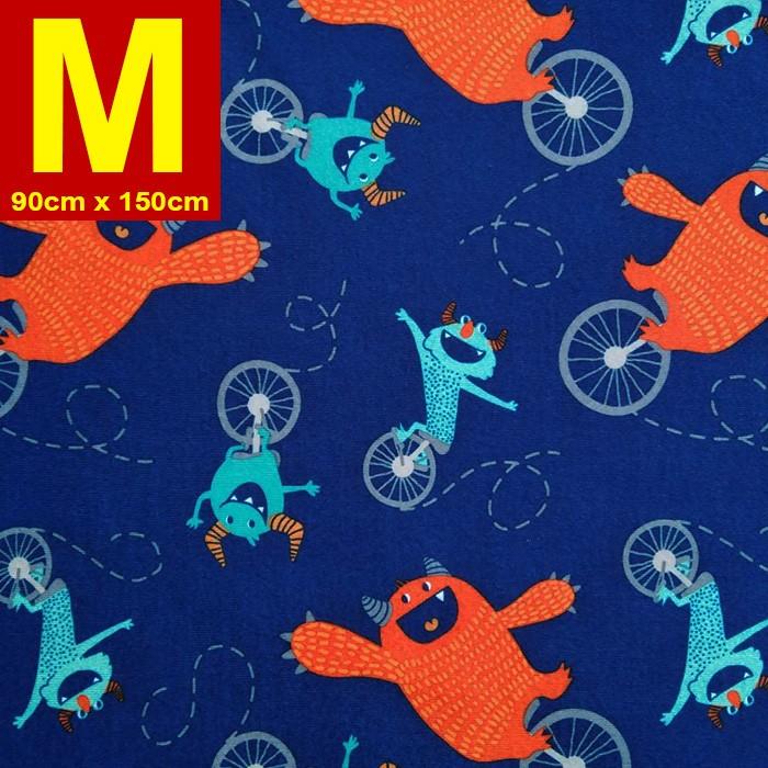 【嬅樺小舖】MIT台灣製 五層專業透氣防水墊 M號《機能款-單車怪獸》