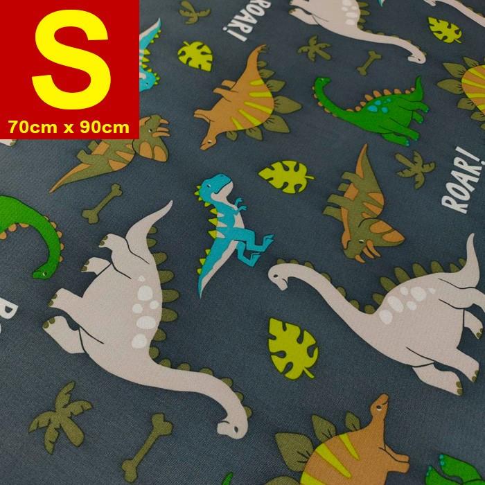 【嬅樺小舖】MIT台灣製 五層專業透氣防水墊 S號《灰恐龍》防尿墊 隔尿墊 防水尿墊 尿布墊 看護墊 寵物墊 生理墊 產褥墊 露營野餐墊~