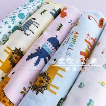 【嬅樺小舖】MIT台灣製  雙層紗布涼被《兒童款-多款下標區》