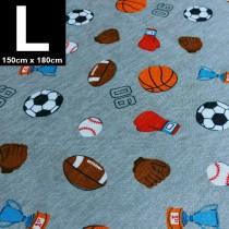 【嬅樺小舖】MIT台灣製 三層專業透氣防水墊 L號《球類競賽》防尿墊 隔尿墊 看護墊 寵物墊 生理墊 產褥墊 露營墊 野餐墊~