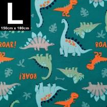 【嬅樺小舖】MIT台灣製 三層專業透氣防水墊 L號《恐龍世界》防尿墊 隔尿墊 防水尿墊 尿布墊 看護墊 寵物墊 生理墊 產褥墊 露營野餐墊~