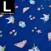【嬅樺小舖】MIT台灣製 三層專業透氣防水墊 L號《獨角獸》防尿墊 隔尿墊 防水尿墊 尿布墊 看護墊 寵物墊 生理墊 產褥墊 露營野餐墊~