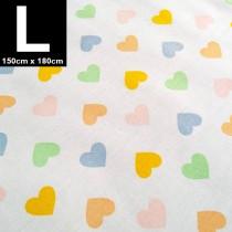 【嬅樺小舖】MIT台灣製 三層專業透氣防水墊 L號《粉嫩心》防尿墊 隔尿墊 防水尿墊 尿布墊 看護墊 寵物墊 生理墊 產褥墊 露營野餐墊~