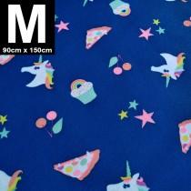 【嬅樺小舖】MIT台灣製 三層專業透氣防水墊 M號《獨角獸》防尿墊 隔尿墊 防水尿墊 尿布墊 看護墊 寵物墊 生理墊 產褥墊 露營野餐墊~
