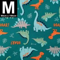 【嬅樺小舖】MIT台灣製 三層專業透氣防水墊 M號《恐龍世界》防尿墊 隔尿墊 防水尿墊 尿布墊 看護墊 寵物墊 生理墊 產褥墊 露營野餐墊~