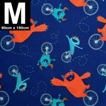 【嬅樺小舖】MIT台灣製 三層專業透氣防水墊 M號《單車怪獸》防尿墊 隔尿墊 防水尿墊 尿布墊 看護墊 寵物墊 生理墊 產褥墊 露營野餐墊~