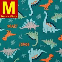 【嬅樺小舖】MIT台灣製 五層專業透氣防水墊 M號《機能款-恐龍世界》防尿墊 隔尿墊 防水尿墊 尿布墊 看護墊 寵物墊 生理墊 產褥墊 露營野餐墊~