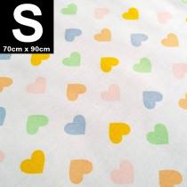 【嬅樺小舖】MIT台灣製 三層專業透氣防水墊 S號《粉嫩心》防尿墊 隔尿墊 防水尿墊 尿布墊 看護墊 寵物墊 生理墊 產褥墊 露營野餐墊~