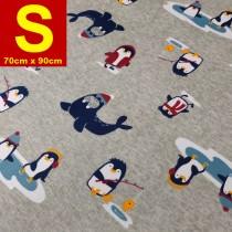 【嬅樺小舖】MIT台灣製 五層專業透氣防水墊 S號《機能款-企鵝家族》防尿墊 隔尿墊 防水尿墊 尿布墊 看護墊 寵物墊 生理墊 產褥墊 露營野餐墊~