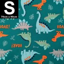 【嬅樺小舖】MIT台灣製 三層專業透氣防水墊 S號《恐龍世界》防尿墊 隔尿墊 防水尿墊 尿布墊 看護墊 寵物墊 生理墊 產褥墊 露營野餐墊~