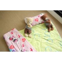 【嬅樺小舖】MIT台灣製 三摺式 兒童 兩用 純棉睡袋 《無內胎-多款下標區》