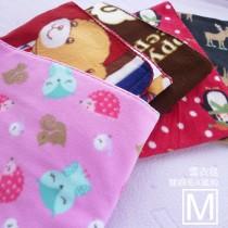【嬅樺小舖】MIT台灣製 搖粒雪衣毯 肚圍《 M號 》