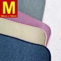 【嬅樺小舖】MIT台灣製 五層專業透氣防水墊 M號《機能款-素色純色素面系列》防尿墊 隔尿墊 防水尿墊 尿布墊 看護墊 寵物墊 生理墊 產褥墊 露營野餐墊~